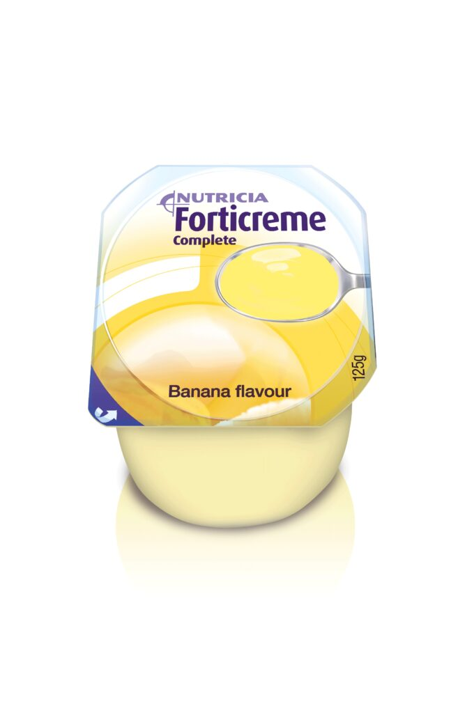 Forticreme Complete Banana Flavour | Nutricia Adult Healthcare