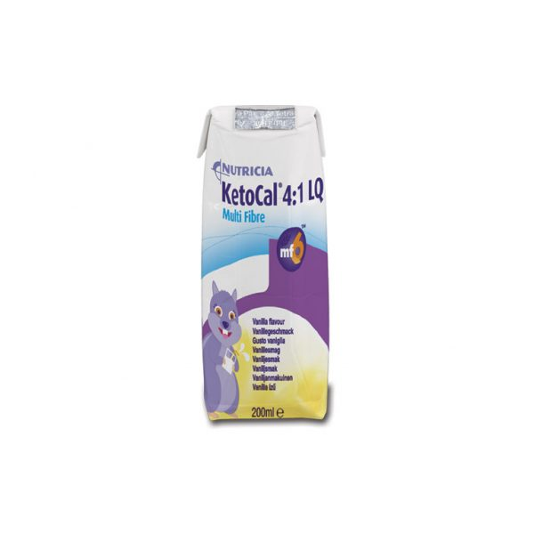 Ketocal 4:1 LQ Multi Fibre Vanilla Flavour | Nutricia