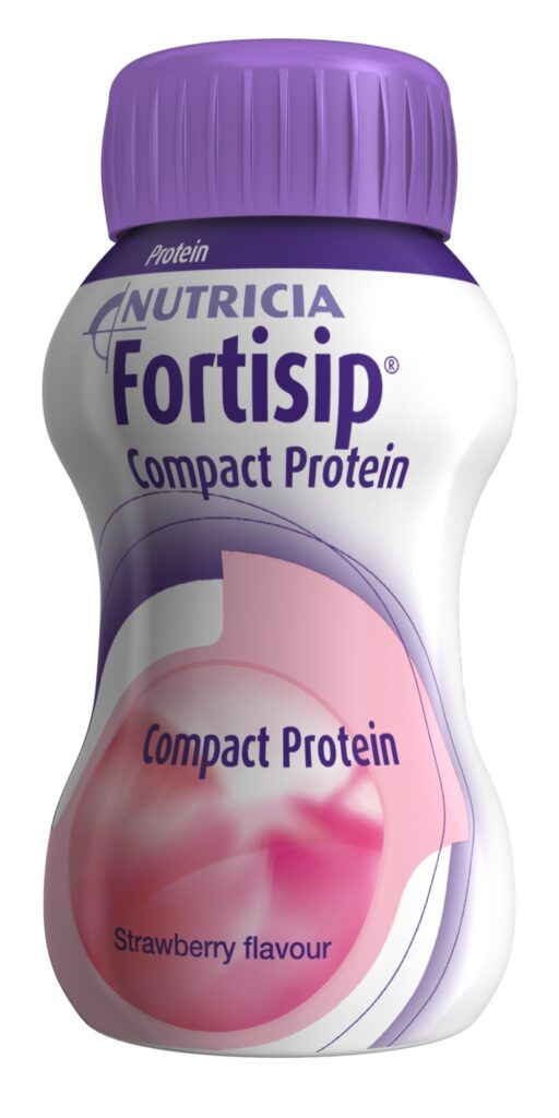 Fortisip Compact Protein Strawberry | Nutricia Adult Healthcare