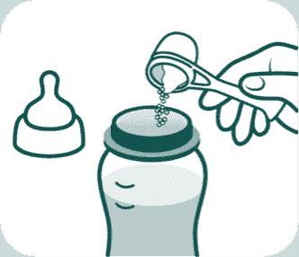 Preperation Information bottle