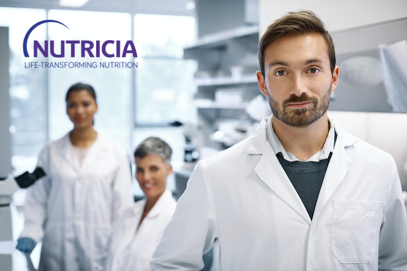 Nutricia Medical Staff Stock Image