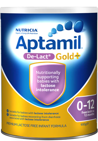 Aptamil Gold+ De-Lact, from birth to 12 Months