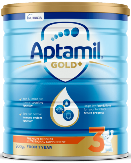 Aptamil Gold +, Toddler Milk Drink, From 12 Plus Months, 900g