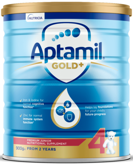 Aptamil Gold +, Toddler Milk Drink, From 2 Plus Years, 900g