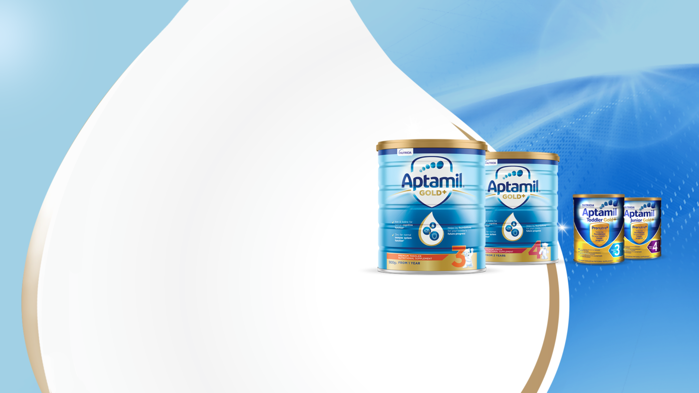 New Packaging for Aptamil Gold+