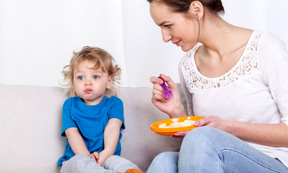 How to handle your toddler's fussy eating phase
