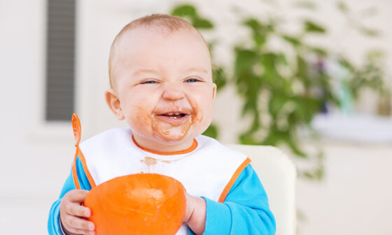 Healthy eating to support your baby's immune system
