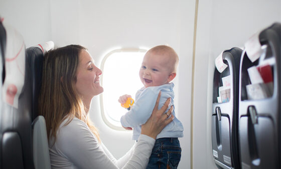7 tips for making your child's first flight easier