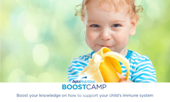 How prebiotics can help your baby's immune system | AptaNutrition Parents' Corner | Boost Camp