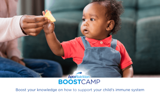 Feeding your toddler to support their immune system | AptaNutrition Parents' Corner | Boost Camp