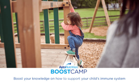 How to build your child's resilience with a healthy immune system