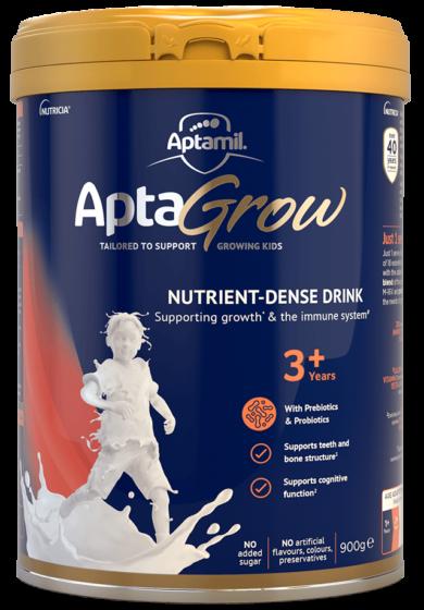 AptaGrow 3+ Years Nutrient-Dense Drink | AptaNutrition