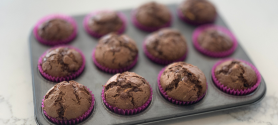 Chocolate Veggie Muffins recipe for picky eaters
