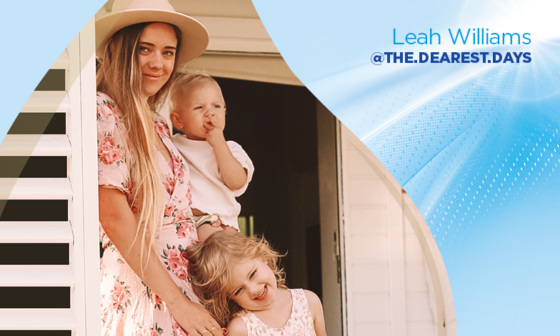Letting go of mum guilt, by Leah Williams | Aptamil Parents' Corner