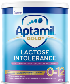Aptamil Gold+ Lactose Intolerance - from birth to 12 Months