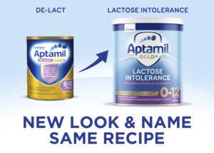 Aptamil Gold+ De-Lact new look
