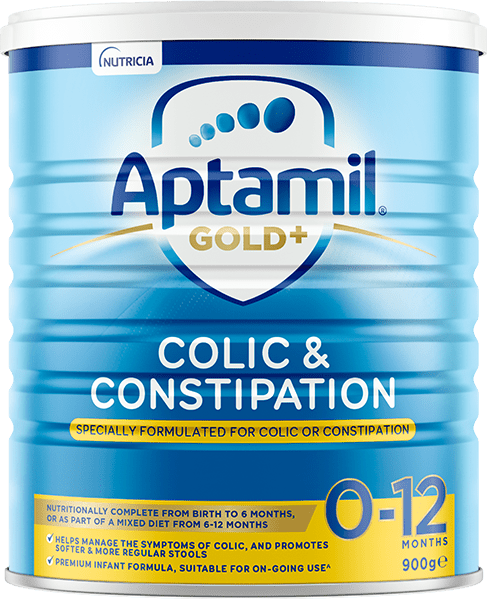 Aptamil Gold+ Colic and Constipation, from birth to 12 Months