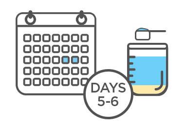 Aptamil Toddler - Formula Transition Plan - Day 5 to 6