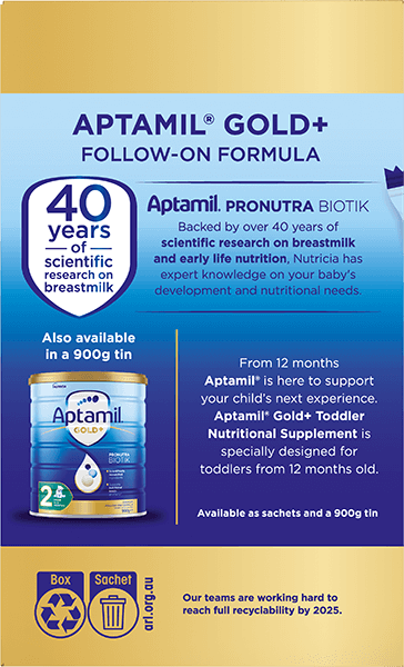 Aptamil Pronutra Gold Plus Carton Render Stage 2 Side 2