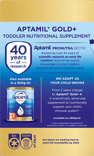 Aptamil Pronutra Gold Plus Carton Render Stage 3 Side 2