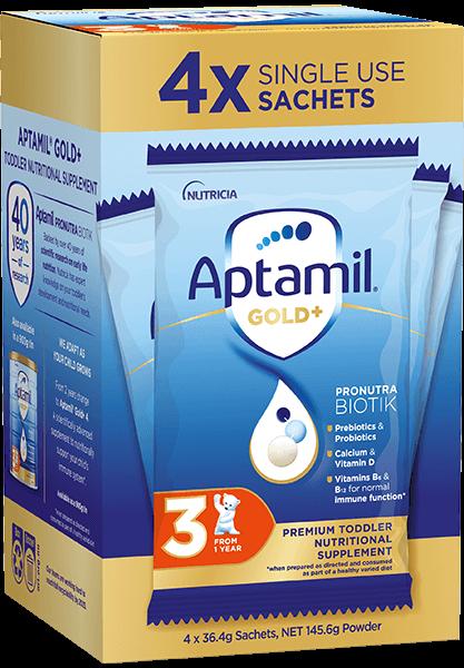Aptamil Pronutra Gold Plus Carton Render Stage 3