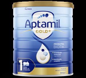 Aptamil - Gold Plus Pronutra Biotik Infant Formula - Stage 1 - FOP