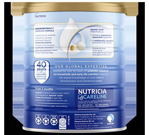 Aptamil - Gold Plus Pronutra Biotik Infant Formula - Stage 1 - SOP