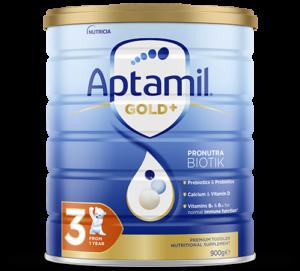 Aptamil - Gold Plus Pronutra Biotik Infant Formula - Stage 3 - FOP
