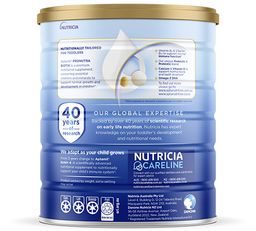 Aptamil - Gold Plus Pronutra Biotik Infant Formula - Stage 3 - SOP
