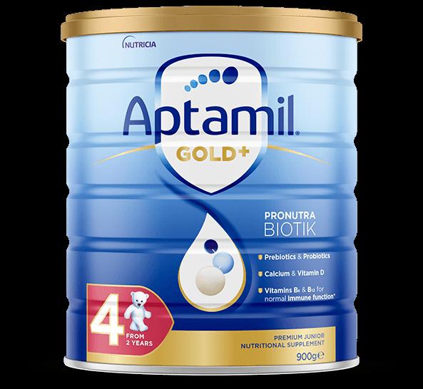 Aptamil - Gold Plus Pronutra Biotik Junior Milk Stage 4