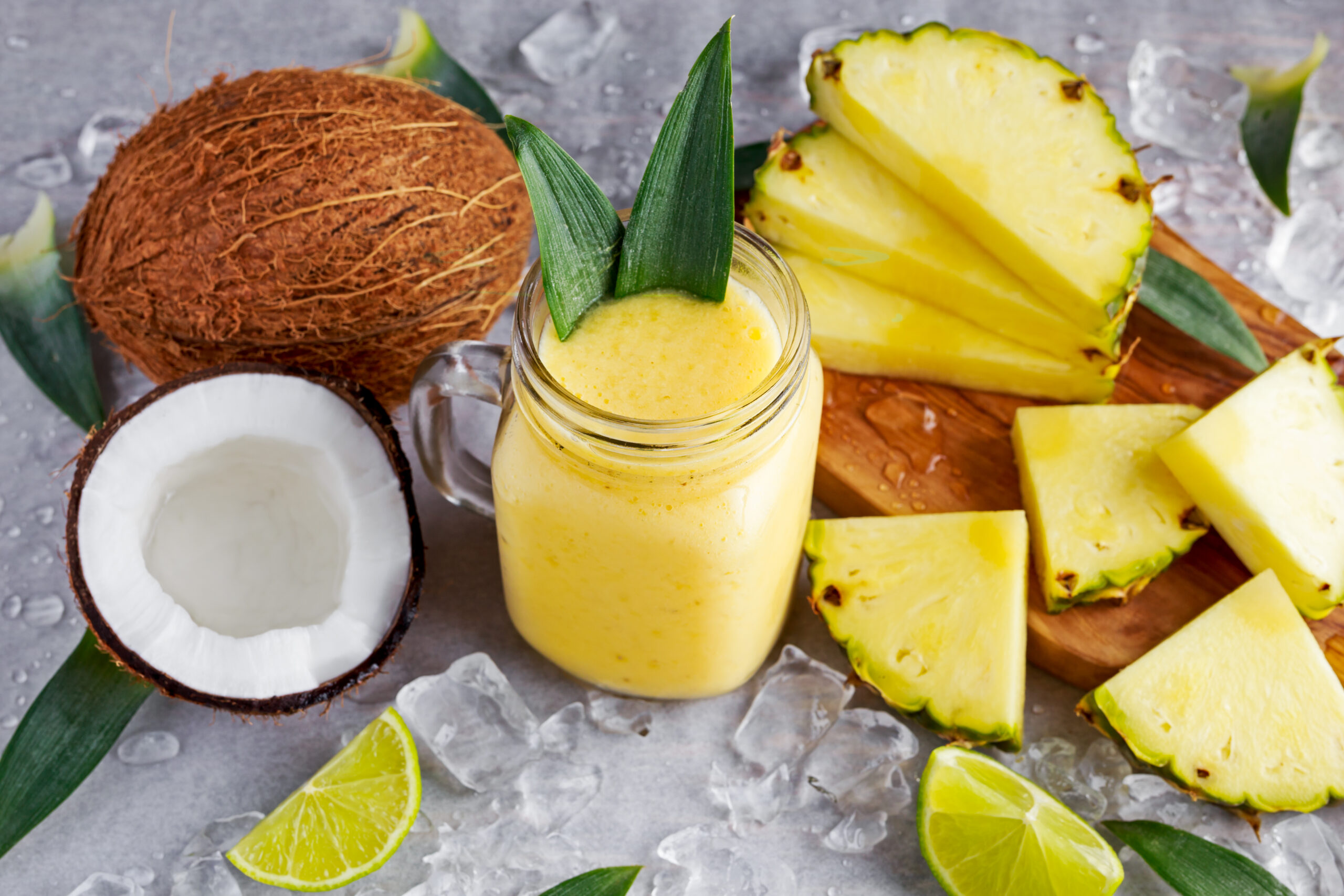 Fortisip Compact Protein Hot Tropical Ginger Refreshing Pina Colada Drink by Nutricia