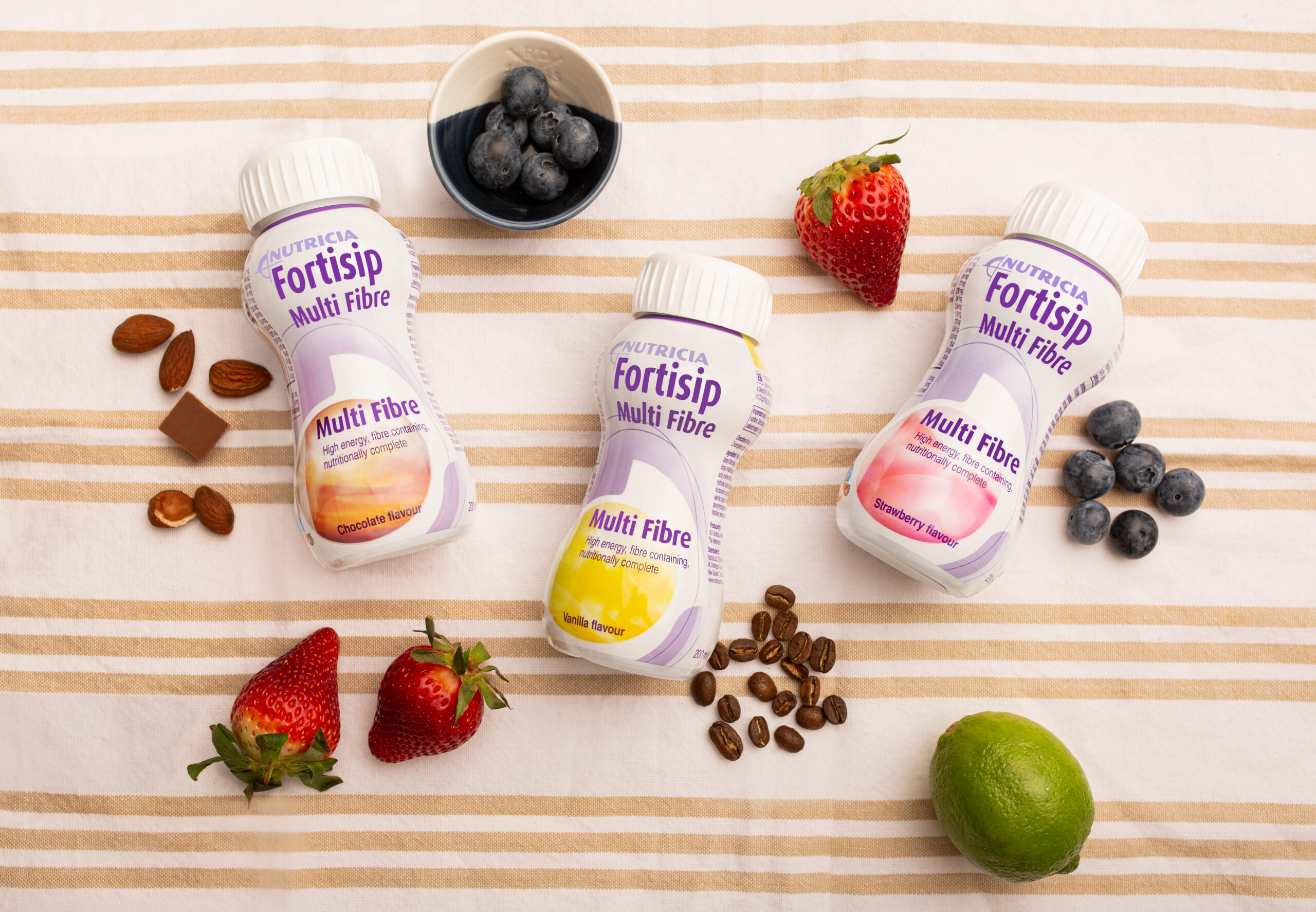 Delicious recipes using Fortisip Multi Fibre, a high energy, fibre enriched, oral nutritional supplement.