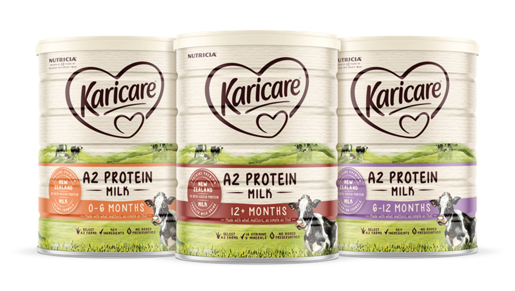 Karicare A2 Protein product range