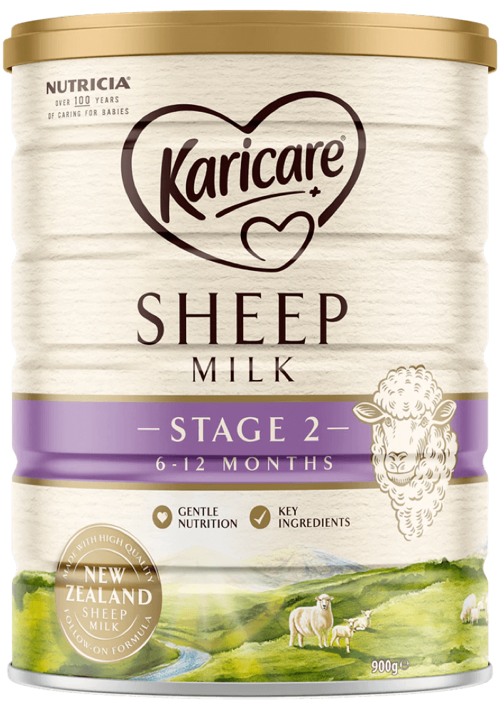 Karicare, Sheep Milk Follow-On Formula, From 6 to 12 Months, 900g