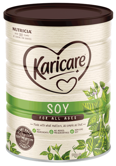 Karicare Formula, Soy, From Birth to 12 Months, 900g