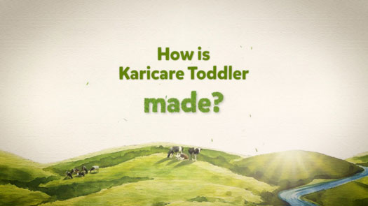 video how is Karicare Toddler made