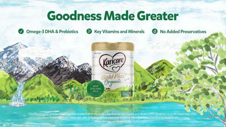 Karicare Gold Plus Organic Toddler Milk Drink
