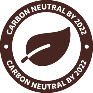 carbon neutral by 2020 certificate