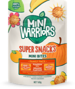 Mini Warriors Pumpkin with Orange flavour