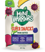 Mini Warriors Purple Vegetable with Blueberry flavour