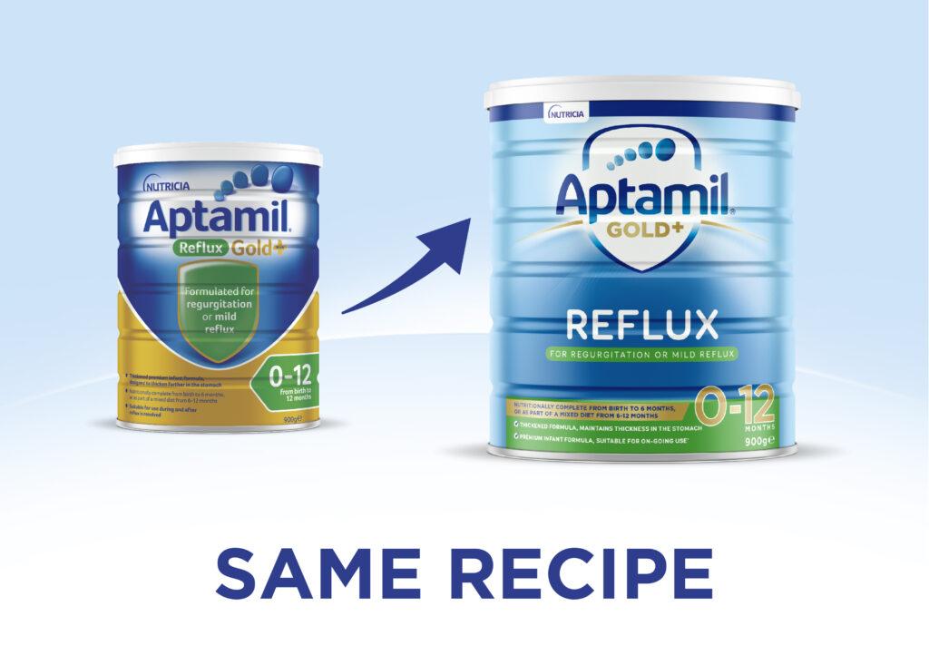 Aptamil Reflux VI change