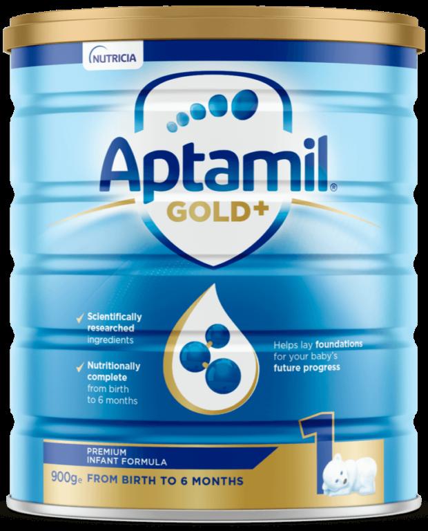Aptamil Gold+ Infant Formula   Paediatrics Healthcare   Nutricia