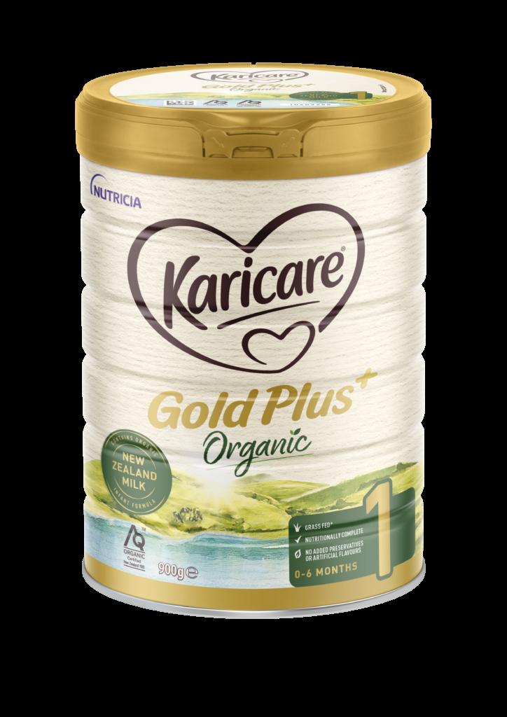 Karicare Gold Plus Organic Stage 1 Angled