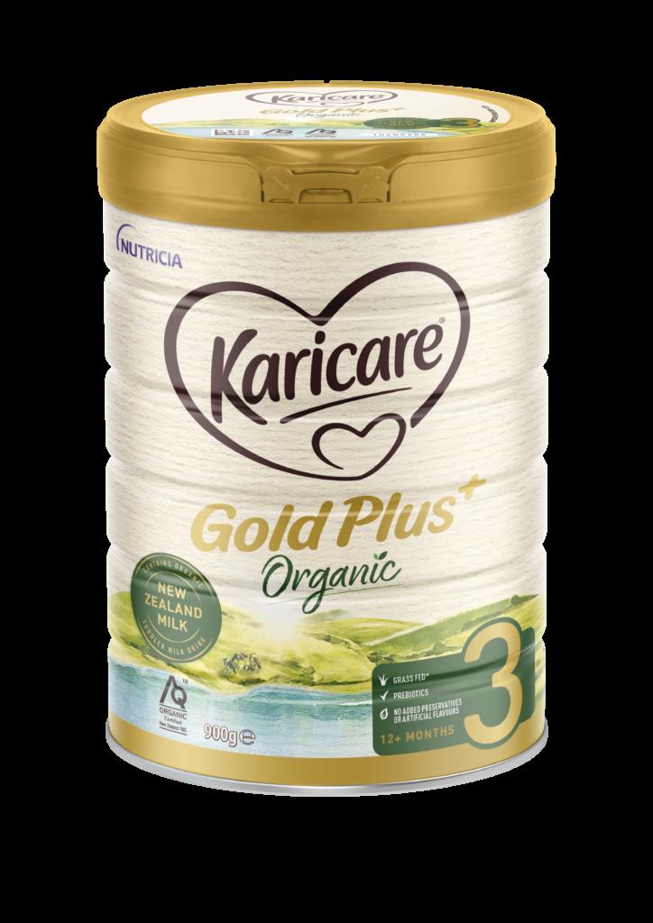Karicare Gold Plus Organic Stage 3 Angled