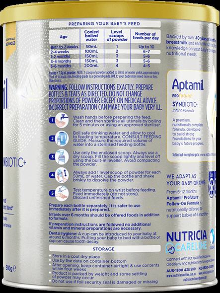 Aptamil, Profutura Premium Formula, From Birth to 6 Months, 900g