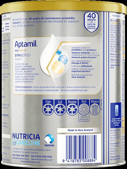 Aptamil, Profutura Premium Supplementary Food, From 3 years, 900g