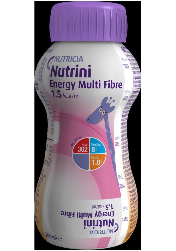 Nutrini Energy Multi Fibre 200ml | Paediatrics Healthcare | Nutricia