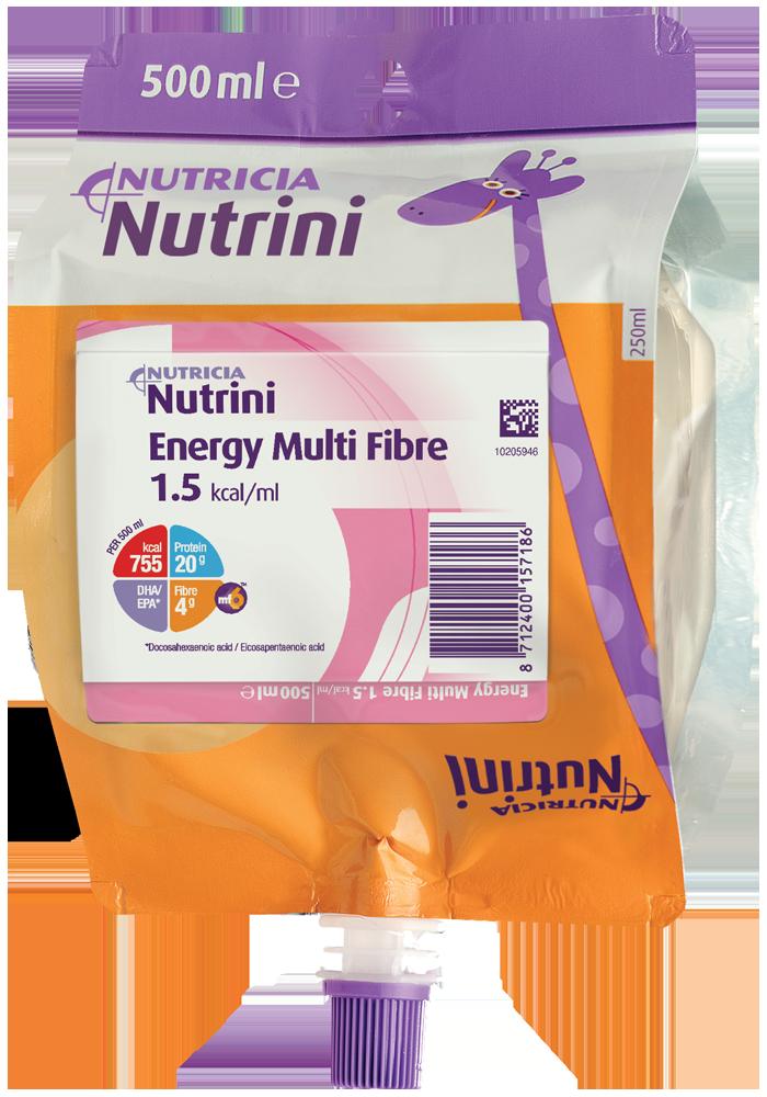 Nutrini Energy Multi Fibre 500ml | Paediatrics Healthcare | Nutricia
