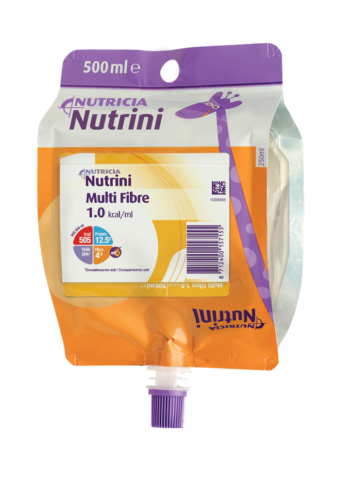 Nutrini Multi Fibre 500ml | Paediatrics Healthcare | Nutricia
