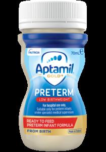 Aptamil Gold Preterm Ready to Feed | Paediatrics Healthcare | Nutricia